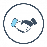 handshake deal for dental ppos clip art